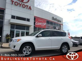Used 2012 Toyota RAV4 UPGRADE SUNROOF for sale in Burlington, ON