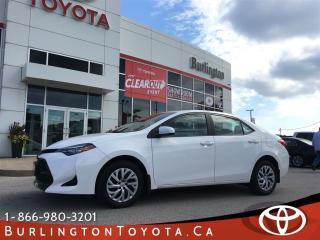 Used 2017 Toyota Corolla LE for sale in Burlington, ON