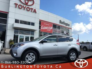 Used 2014 Toyota RAV4 LE EXTENDED WARRANTY for sale in Burlington, ON