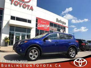 Used 2015 Toyota RAV4 XLE SUNROOF for sale in Burlington, ON
