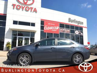 Used 2014 Toyota Corolla LE SUNROOF PACKAGE for sale in Burlington, ON