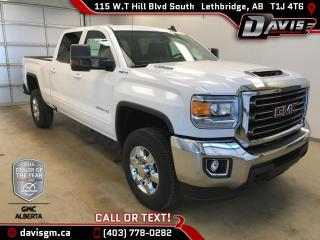 New 2018 GMC Sierra 3500 HD SLE-Duramax Diesel, Heated 40/20/40 Split Bench Seat for sale in Lethbridge, AB