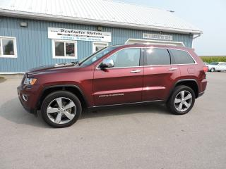 Used 2016 Jeep Grand Cherokee Limited for sale in Gorrie, ON