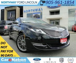 Used 2013 Lincoln MKZ HYBRID | NAV | LEATHER | SUN ROOF | REAR CAM | for sale in Brantford, ON