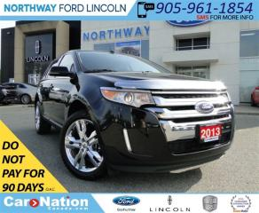 Used 2013 Ford Edge Limited | NAV | REAR CAM | LEATHER | PANO ROOF | for sale in Brantford, ON