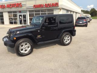 Used 2014 Jeep Wrangler Sahara for sale in Owen Sound, ON