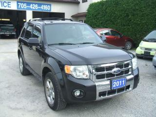 Used 2011 Ford Escape Limited, V6, AWD for sale in Beaverton, ON
