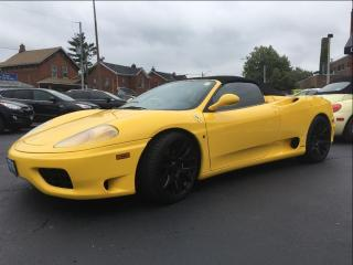 Used 2001 Ferrari 360 Spider F1 | RECENT TIMING BELT SERVICE | for sale in St Catharines, ON