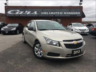 Used 2013 Chevrolet Cruze LS | NO ACCIDENTS | LOW MILEAGE ... for sale in St Catharines, ON
