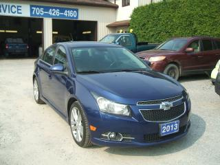 Used 2013 Chevrolet Cruze LT, RS Package for sale in Beaverton, ON