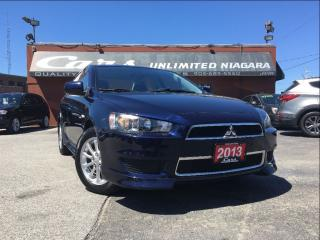 Used 2013 Mitsubishi Lancer SE | NO ACCIDENTS | ONLY 8, 520 KM ... for sale in St Catharines, ON