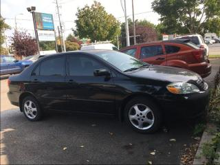 Used 2005 Toyota Corolla CE for sale in St Catharines, ON