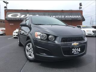 Used 2014 Chevrolet Sonic LS | NO ACCIDENTS | 1 OWNER | BLUETOOTH ... for sale in St Catharines, ON