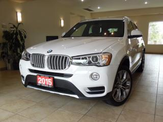 Used 2015 BMW X3 xDrive28i NAVI|TOPVIEW|PANOROOF! for sale in Toronto, ON