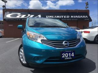 Used 2014 Nissan Versa Note 1.6 SV | CAMERA | NO ACCIDENTS | BLUETOOTH ... for sale in St Catharines, ON