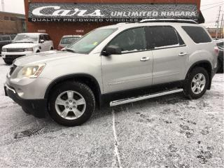Used 2008 GMC Acadia SLE   7 SEATED   LOW MILEAGE   NO ACCIDENTS ... for sale in St Catharines, ON