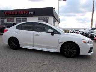 Used 2016 Subaru WRX WRX TURBO CAMERA AWD 6 SPD CERTIFIED for sale in Milton, ON