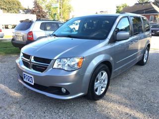 Used 2014 Dodge Grand Caravan Crew for sale in Belmont, ON