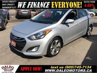 Used 2013 Hyundai Elantra GT SE TECH PACK | NAV | MOONROOF for sale in Hamilton, ON