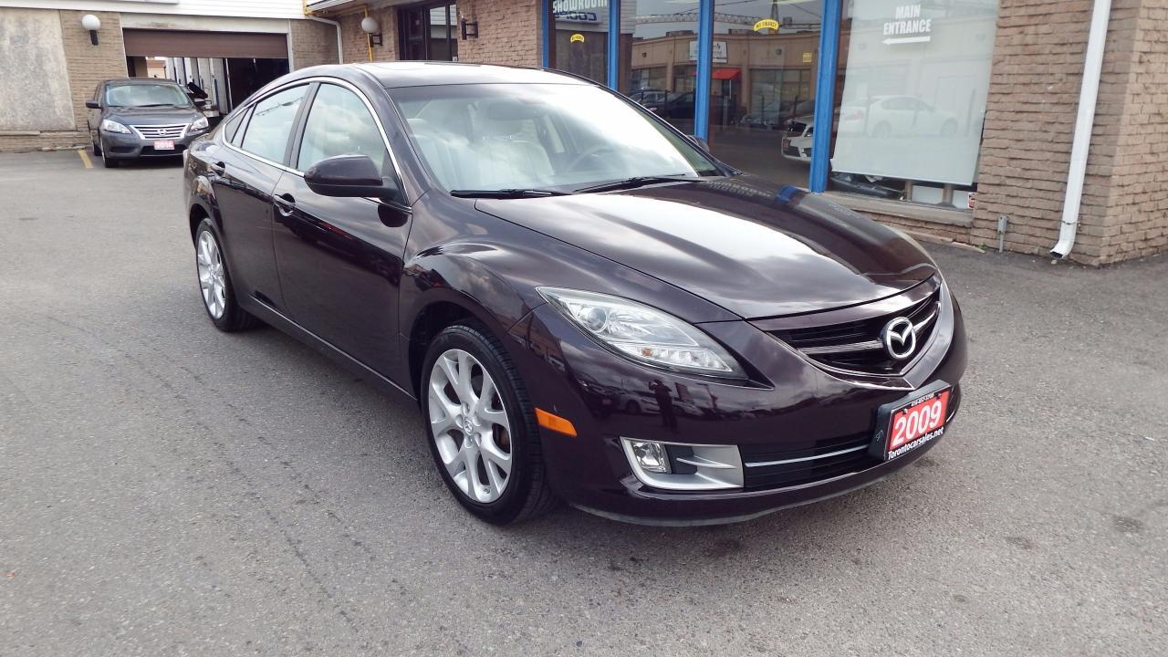 2009 Mazda MAZDA6 GT/AUTO/BLUETOOTH/IMMACULATE$5999