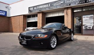 Used 2004 BMW Z4 ROADSTER 2.5i CONVERTIBLE COUPE NO ACCIDENT for sale in Mississauga, ON