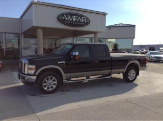 Used 2008 Ford F-250 LARIAT/ 4x4 / 4 DR / NO PAYMENTS FOR 6 MONTHS !! for sale in Tilbury, ON