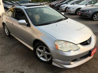 Used 2003 Acura RSX Premium/AUTO/LEATHER/SUNROOF/HEATED SEATS/CLEAN for sale in Scarborough, ON