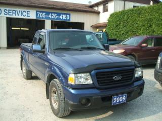 Used 2009 Ford Ranger Ext. Cab , Sport for sale in Beaverton, ON