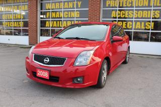 Used 2008 Nissan Sentra SE-R, Sport PCKG for sale in Oakville, ON