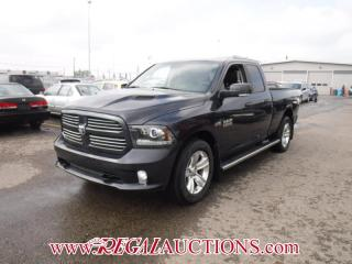 Used 2016 RAM 1500 SPORT QUAD CAB SWB 4WD for sale in Calgary, AB