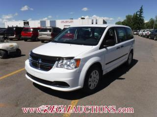 Used 2016 Dodge GRAND CARAVAN CVP WAGON 3.6L for sale in Calgary, AB
