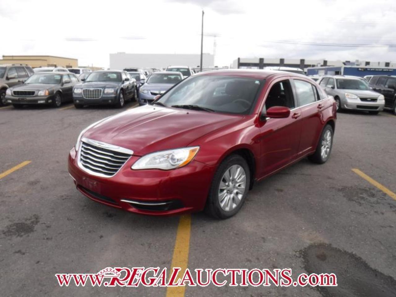 2013 Chrysler 200 LX 4D SEDAN 2.4L