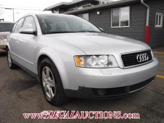 Used 2002 Audi A4  4D WAGON QTRO 3.0L for sale in Calgary, AB