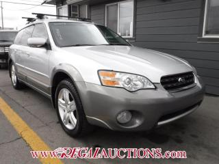 Used 2007 Subaru OUTBACK BASE 4D WAGON for sale in Calgary, AB