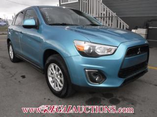 Used 2013 Mitsubishi RVR  4D UTILITY 2WD 5SP for sale in Calgary, AB