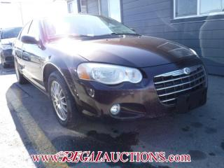 Used 2004 Chrysler SEBRING  4D SEDAN for sale in Calgary, AB