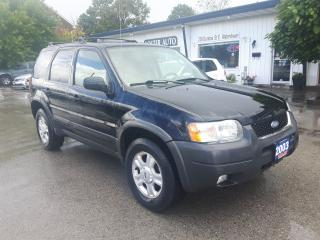 Used 2003 Ford Escape XLT Sport 4WD for sale in Waterdown, ON