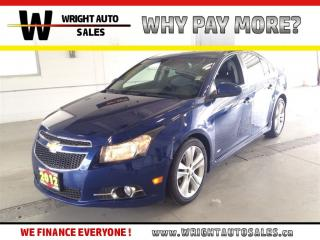 Used 2012 Chevrolet Cruze LTZ |SUNROOF|LEATHER|81,062 KMS for sale in Cambridge, ON