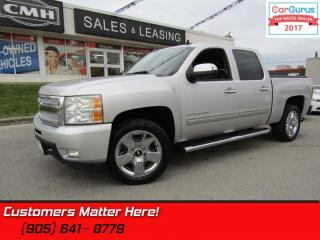 Used 2011 Chevrolet Silverado 1500 LTZ  4X4, LEATHER, DUAL EXHAUST,  DUAL POWER SEATS for sale in St Catharines, ON