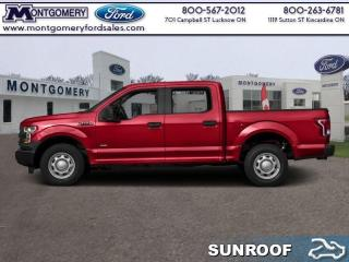 New 2017 Ford F-150 LARIAT  - Sunroof - Tailgate Step for sale in Kincardine, ON