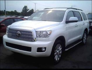 Used 2013 Toyota Sequoia Platinum 5.7 Nav, Leather, Bac for sale in Winnipeg, MB