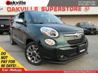 Used 2015 Fiat 500 L Lounge | LEATHER | NAVI | SUNROOF | B/U CAM for sale in Oakville, ON
