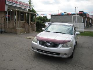 Used 2005 Nissan Altima 2.5 S for sale in Cambridge, ON