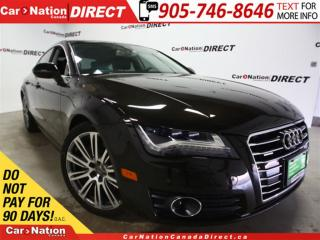 Used 2013 Audi A7 3.0T| LOW KM'S| AWD| SUNROOF| LEATHER| for sale in Burlington, ON