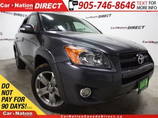 Used 2010 Toyota RAV4 Sport V6| 4X4| LOW KM'S| SUNROOF| for sale in Burlington, ON