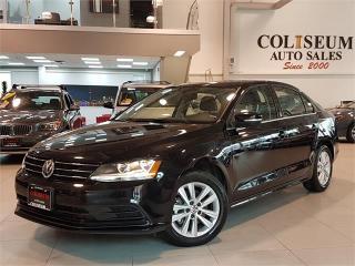 Used 2017 Volkswagen Jetta Sedan WOLFSBURG-AUTO-SUNROOF-CAMERA-ONLY 17KM for sale in York, ON