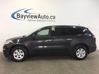 Used 2017 Chevrolet Traverse - AWD! ALLOYS! 8 RIDER! A/C! REV CAM! ON STAR! for sale in Belleville, ON