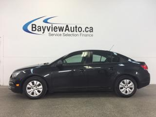 Used 2016 Chevrolet Cruze LTD- 6 SPEED! A/C! ON STAR! KEYLESS ENTRY! for sale in Belleville, ON