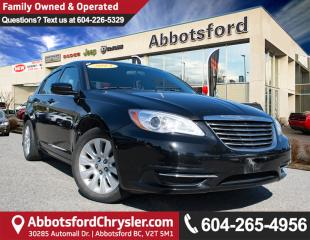 Used 2013 Chrysler 200 LX ACCIDENT FREE! for sale in Abbotsford, BC