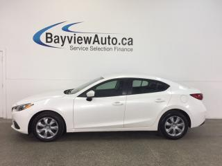 Used 2014 Mazda MAZDA3 GX- SKYACTIV! PUSH BUTTON START! A/C! BLUETOOTH! for sale in Belleville, ON
